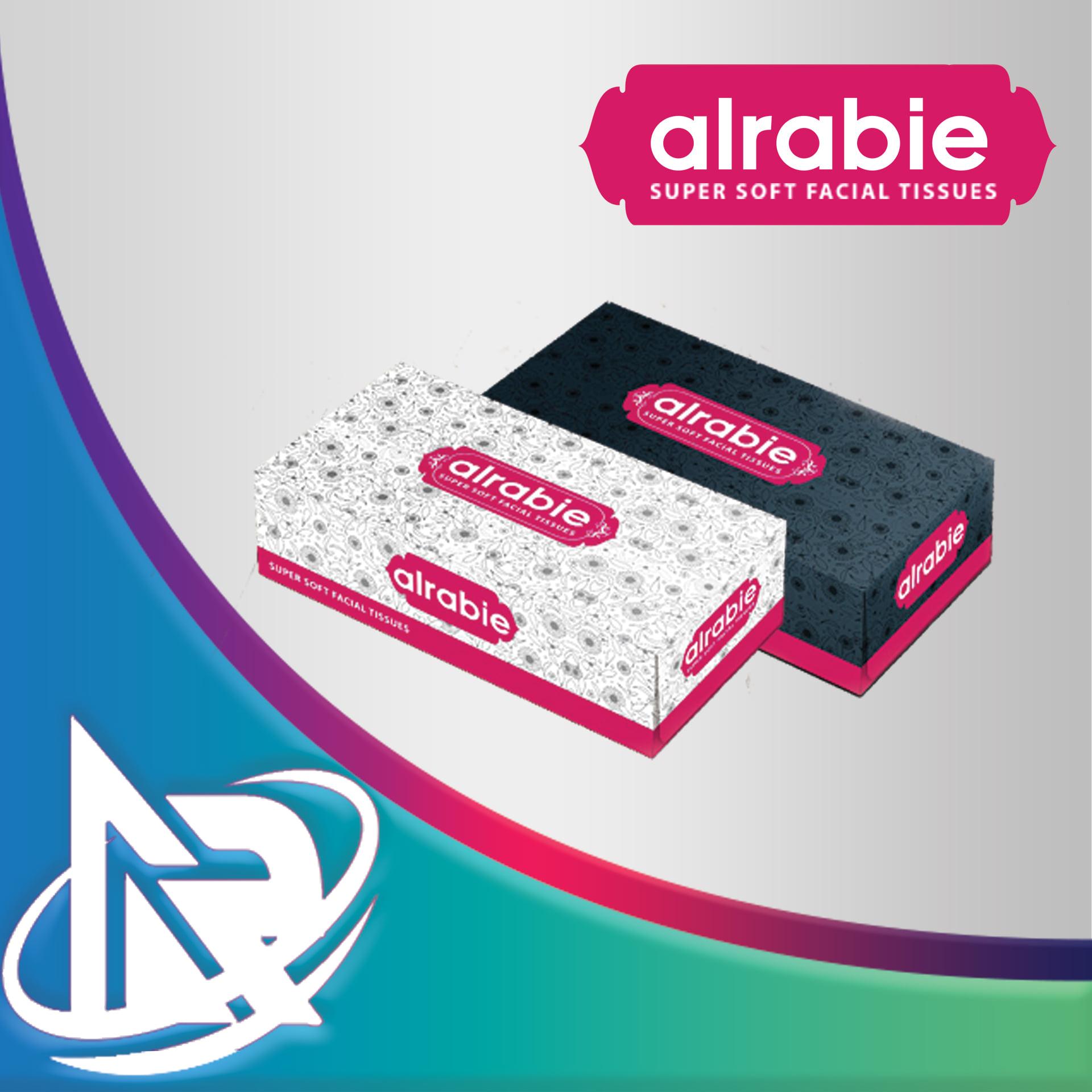 Facial tissue boxes 150